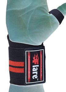 Flaresport Wrist Wrap Gym Bodybuilding Hand Bar Wrist WeightliftingSupport Wrap