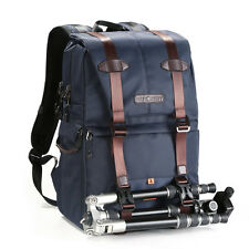 Large Camera Backpack Bag Waterpfoof Nylon for Nikon Canon DSLR K&F Concept