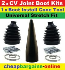 CV JOINT BOOT KIT & CONE FITTING TOOL UNIVERSAL FIT CONE TOOL BOOT GREASE CLAMPS