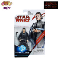 "GENERAL LEIA ORGANA - Hasbro Star Wars Last Jedi Force Link 3.75"" Action Figure"