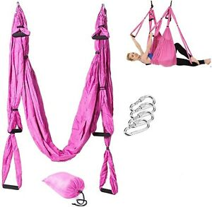 Yoga Swing kit Yoga Hammock Trapeze Sling Inversion Tool Adjustable Handles