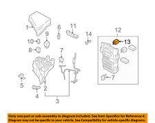 SUBARU OEM 09-16 Forester-Horn Relay 82501AL000