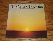 Original 1977 Chevrolet Caprice Classic & Impala Sales Brochure 77 Chevy