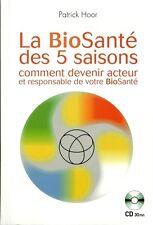 LA BIOSANTE DES 5 SAISONS - LIVRE + CD-ROM - SANTE - MEDECINES PARALLELES - 30 %