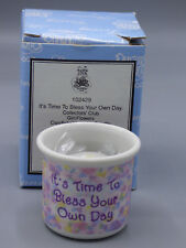 "Precious Moments ""It's Time to Bless Your Own Day"" Candleholder Candle 102429"