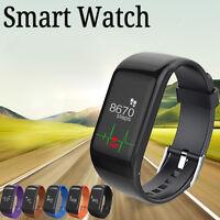 R1 Bluetooth Smart Watch Bracelet Heart Rate Pedometer Fitness Activity Tracker