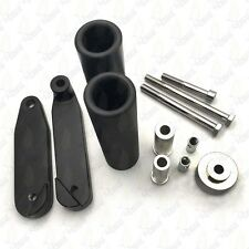 Black Frame Slider For 2008-2013 Kawasaki Ninja 250 250R Ex250