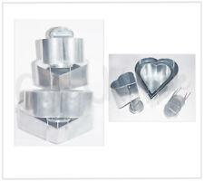 Heart Topsy Turvy Cake Tin | 4 Tier | Wedding | Bakeware - Non Stick Baking Pan