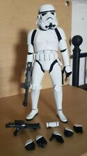 More details for star wars sideshow hot toys 1:6 sixth scale imperial stormtrooper figure anh