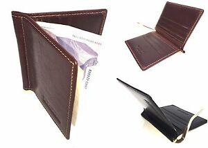Golunski SRMC1 New Mens Premier Quality Leather Gents Money Clip