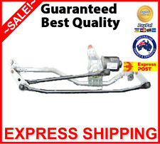 AU BA BF XR FAIRMONT FALCON FRONT WIPER LINKAGES & MOTOR ASSEMBLY - TESTED