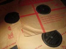 78RPM 3 RCA by Zeke Manners, Piano Polka, Sioux Sue, Blue Moon, Betcha Heart V-