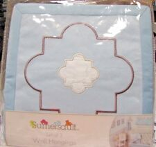 Sumersault Little Prince Set of 3 Light Blue Wall Hangings