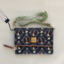 BNWT Disney Parks Dooney and Bourke Tiana Foldover Zip Crossbody Bag Purse