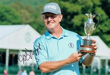 Jeff MAGGERT SIGNED Autograph 12x8 Photo 2 AFTAL COA Golf Seniors Tour Winner