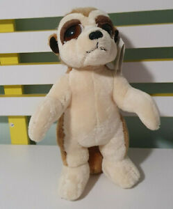 RUSS BERRIE MEERKAT MONTY SOFT PLUSH TOY! 29CM TALL!