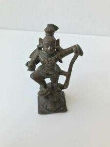Southeast Asian bronze figure, Indian bronze, Antique, Vishnu?