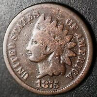1875 INDIAN HEAD CENT - GOOD