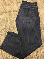CK39 CALVIN KLEIN ~ Men's 38 x 32 ~ USA MADE ~ Button Fly Straight Blue Jeans
