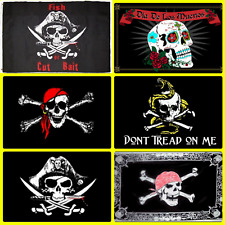 (6 Pack) 3x5 Pirate Flag Flags Pirates of the Caribbean Collection Set (#2)