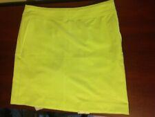 NWT Fairway & Greene Annie Lime Tiki Golf Tennis Skort Size 4 or 6 NEW G12180