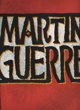"""""""Martin Guerre""""   London  Souvenir Program  1997  Jenna Russell & Hal Fowler"""