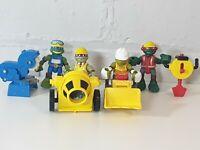 TMNT teenage mutant ninja turtles Half Shell Heroes Construction Figure Bundle