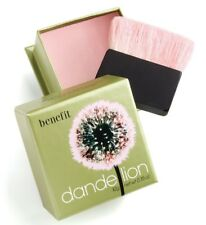 NEW BENEFIT Dandelion Baby Pink Powder Blush with Brush Full Size 0.35 oz.