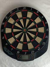 Halex Mach 1 8-Player Electronic Dart Board 64300 Red Green Black
