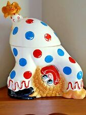 Vintage Enesco Clown Ceramic Cookie Jar ~ Enesco Imports Japan ~ Rare