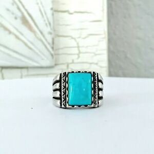 Carolyn Pollack Sterling Silver 925 Turquoise Navajo STYLE SOUTHWEST Sz 11 Ring