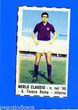 CORRIERE DEI PICCOLI 1966-67 - Figurina-Sticker - MERLO - FIORENTINA -New