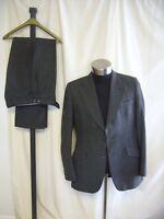 "Mens Suit Dunn & Co. chest 40"", grey melange, Scottish wool, 36""W 31""L - 7306"