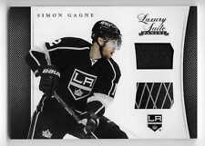 11/12 LUXURY SUITE GAME USED JERSEY & STICK Simon Gagne #30