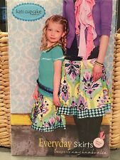 Kati Cupcake Everyday Skirts For Mommy And Me 12mons.- XL Sewing Pattern