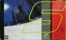 SWAG snowboard clothing 1996 SHAUN PALMER promotional poster ~MINT condition~!!!