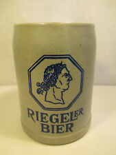 Riegeler Bier Brauerei Bierkrug Riegel Baden 0,5 Liter alt