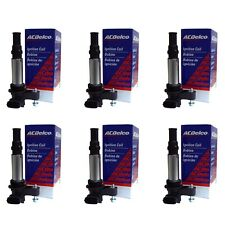 New ACDelco Ignition Coil Set of 6 Fits 2005-09 Cadillac, Chevrolet & Saab V6