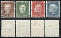 République fédérale 200 - 203 timbrés ME 55 (808029)