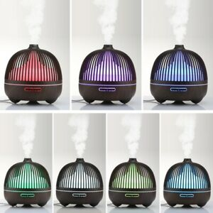 500ML Aroma Essential Oil Diffuser Ultrasonic Air Humidifier Difusor LED Light