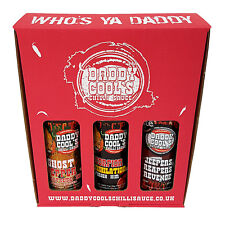 Chilli Sauce - Daddy Cool's Sauce Hot Selection. Ghost, Scorpion, Reaper Sauce