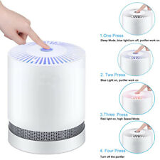 Large Room Air Purifier with True HEPA Filter Remove Allergies Odors Noise-free
