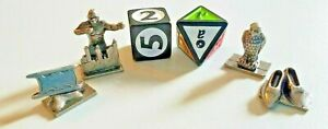 """Scene It? """"Turner Classic Movies"""" Replacement Tokens & DiceGame Pieces"""