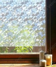 92 CM x 3 M - Gemstones Reapply/Reusable Static Frosted Window Glass Film