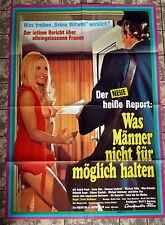 Was Männer nicht für möglich halten * A1-Filmposter -Ger 1-Sheet 1971 EROTIK
