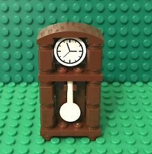 Lego New MOC Grandfather Clock / Home Maker Interior Time Furniture