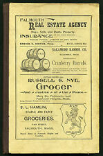 Resident & Business Directory of Bourne Falmouth & Sandwich, Massachusetts 1900