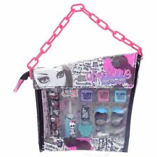 Monster High Beauty Bag Fashion Fright Makeup Case Pink Chain Travel Bag