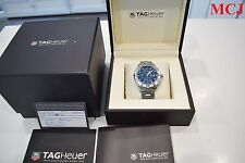 TAG Heuer Aquaracer 300M CAP2112 Blue Dial With Box & Papers