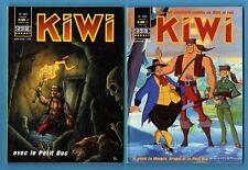 ► 2 BD KIWI N°561 + 563 - TBE